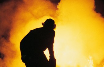 Firefighting is often compared to combat even in civilian life.