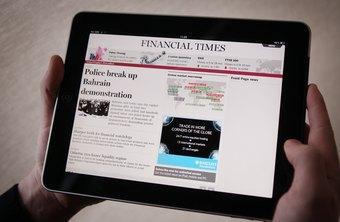 My iPad Does Not Auto Rotate | Chron com