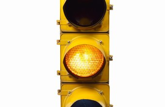 Traffic lights are among the tools traffic engineers use to manage traffic flow
