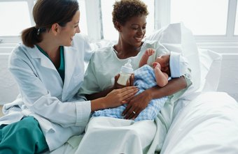 Maternity nurses often care for both mother and baby.