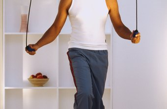 Jumping rope is an exercise of slightly higher impact than walking.