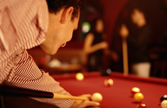 Pool players can earn their money from tournaments or from more casual settings.