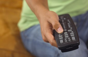 You may be able to adjust your projection TV's lamps using the remote control.