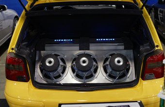 Custom subwoofers look as good as they sound.