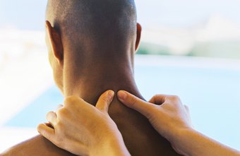 Tight mid-back muscles may result in neck pain.