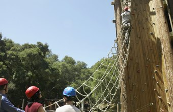 Customers sign a letter of liability before navigating an obstacle course.