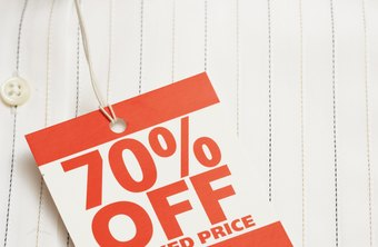 Affix sale tags to clothing with small brass safety pins.