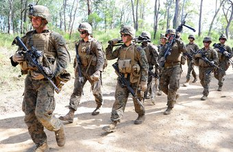 Marine Corps platoon sergeant are instrumental in training their platoons.