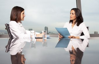 Eye contact, facial expressions and body language are also important when discussing serious interview topics.