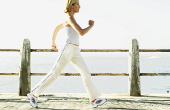 Slim up with a regular walking routine.
