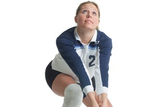 Volleyball players need flexible hamstrings to bend over for digs.