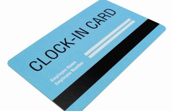 Some electronic time card systems use cards with magnetic stripes.