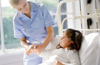 Pediatric nurses help provide specialized medical care to children.