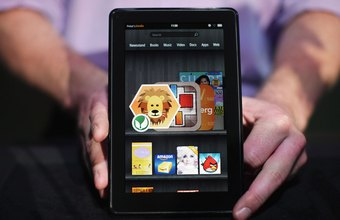 Amazon's Kindle Fire has a full color LCD screen.