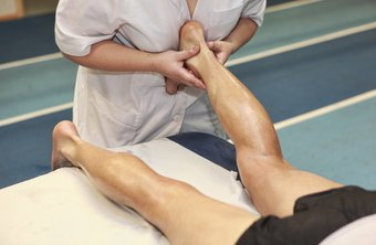 Massage is one of many techniques physical therapists use to loosen muscles.