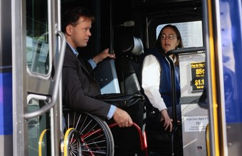 City bus drivers have to comply with the Americans with Disabilities Act.