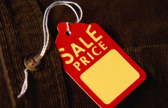 Merchandise tags work for sales, building brand or describing items.