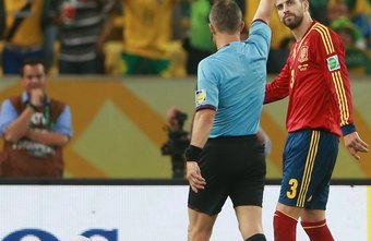 A player will be sent off for committing a serious offense.