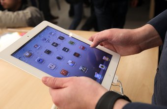 Some iPads are equipped with 3G service in addition to Wi-Fi.