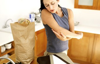 Elbow disorders make lifting tasks difficult.