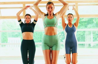 Aerobics is a great way to get into shape.