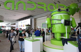 The Android operating system is used on many smartphones and tablets.