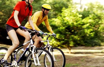 Biking is an excellent cardio activity you can enjoy alone or with friends.