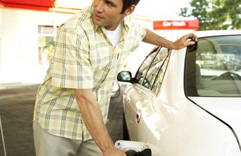 A gas station without competitors can charge higher prices.