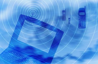 Bluetooth and Wi-Fi create networks using radio waves.