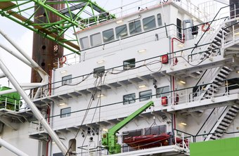 The rules for crane certification change when the crane's afloat.