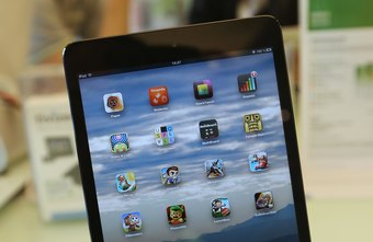 Use iTunes to manage your iPad apps.