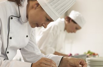 Chefs, sous chefs and line cooks work together as part of a team, all with their own specialized tasks.