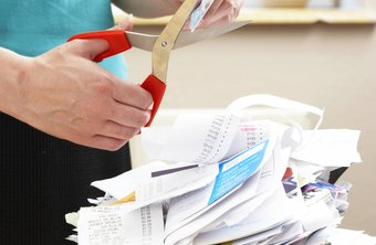 Retaining receipts for every business expense may be unnecessary for tax purposes.