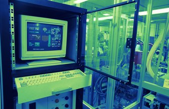 Programmable logic controllers maintain equipment used in automated processes.