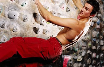 Indoor bouldering is just one aspect of rock climbing