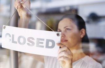 Remove your personal liabilities before closing your business.