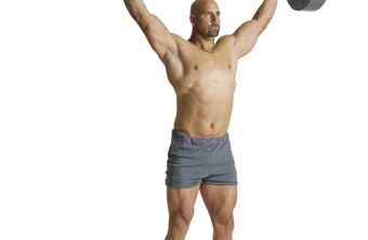 Strengthen your upper body with the military press.