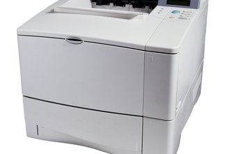 Some HP LaserJet models are capable of printing from more than one paper tray.
