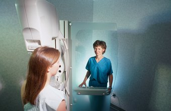Radiography technologists can specialize in areas such as mammography.