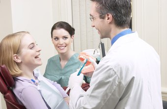 Dentists spend their time meeting with patients and managing staff.