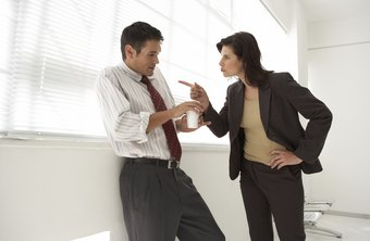 Employees who get away with angry outbursts damage workplace morale.