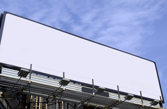 Use blank billboards as a place to advertise your billboard space.