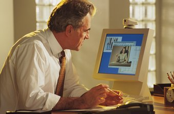 Use an HP webcam and Skype for online meetings.