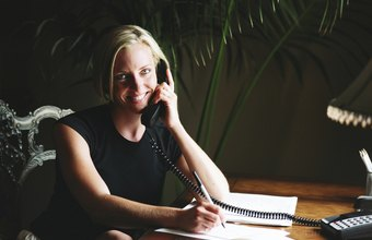 Good verbal and written communication skills are necessary for moving company receptionists.