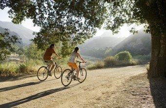 Changing the terrain you are riding on can help you burn more calories.