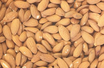 Almonds provide many healthy nutrients including healthy fat and fiber.