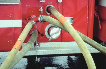 A firefighter must demonstrate knowledge of water pumping systems on his fitness exam.