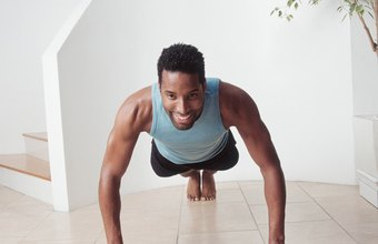 Body-weight exercise provides enough resistance to strengthen your muscles.