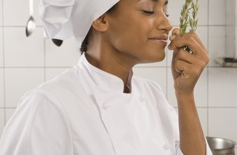 Chefs may judge the freshness of some foods by smell.