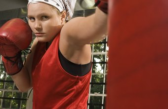 Working the heavy bag on a consistent basis can keep you in shape.